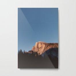 Half Dome Sunset Metal Print