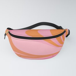 Groovy Color in Pink and Orange Fanny Pack