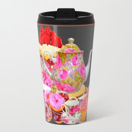AFTERNOON TEA PARTY  & PASTRY  DESSERTS Travel Mug