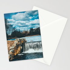 Waterfall afternoon Stationery Cards