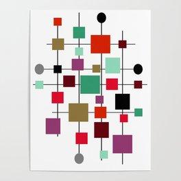 Mid-Century Modern Art 1.3.4 Poster
