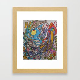 The World Is On Your Side Framed Art Print