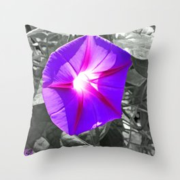 Floral Light Throw Pillow