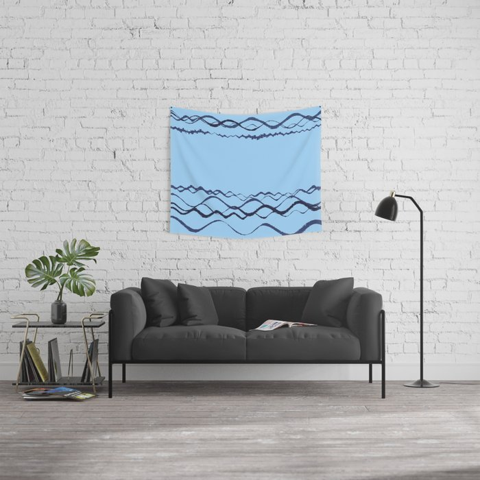 1380249359 in blue Wall Tapestry
