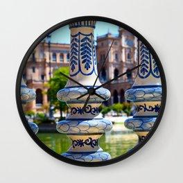Glimpse of Spain Wall Clock
