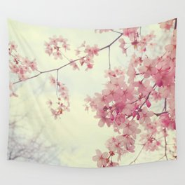 Dreams In Pink Wall Tapestry