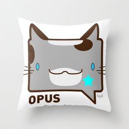 Convo Cats! Opus Throw Pillow