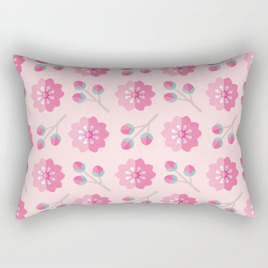 SAKURA CHERRY BLOSSOMS Rectangular Pillow
