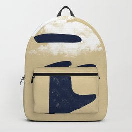 Mix of worlds, between abstract and more abstract #601 Backpack