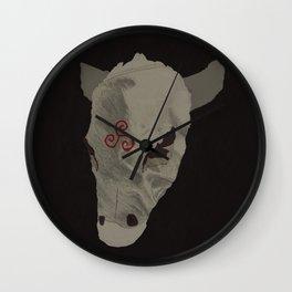 """""""Go West"""" #3 Wall Clock"""