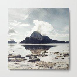 Cadlao Island from El Nido Metal Print