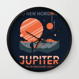 To New Horizons Wall Clock