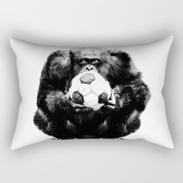 Soccer Chimp Rectangular Pillow