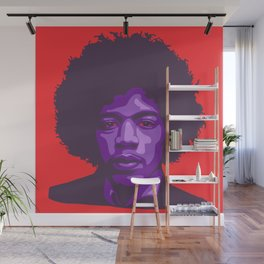 Purple Haze Wall Mural