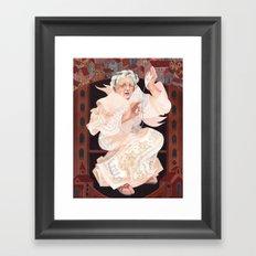The Town Historian Framed Art Print