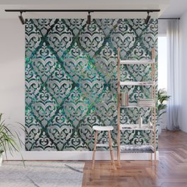 Persian Oriental  pattern abalone and pearl Wall Mural