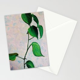 Falling Leaves Oil Stationery Cards
