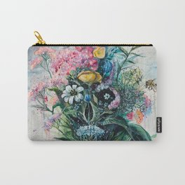 The Last Flowers Carry-All Pouch