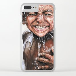 Happiness is... Clear iPhone Case