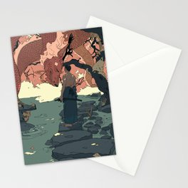Tell a Dragon Colorful Stories part 2 Stationery Cards