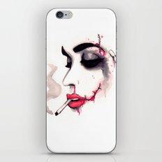Bloody Cigarette iPhone & iPod Skin