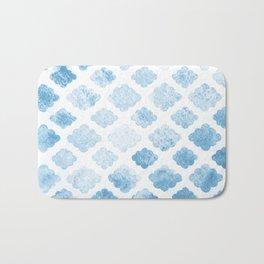 Blue clouds Bath Mat