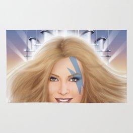 Xanadu homage cover for 10th Muse - Olivia Newton John! Rug