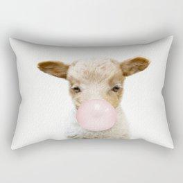 Bubble Gum Baby Lamb Rectangular Pillow