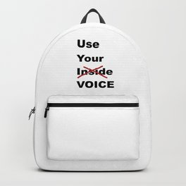 Use Your Voice Backpack