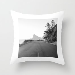 Chapman's Peak Drive Throw Pillow