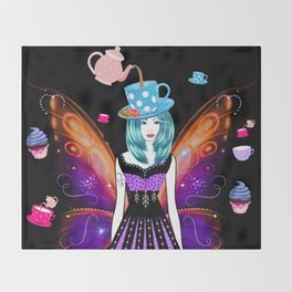 The TeaTime Fairy Throw Blanket