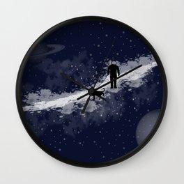Space Walk Wall Clock