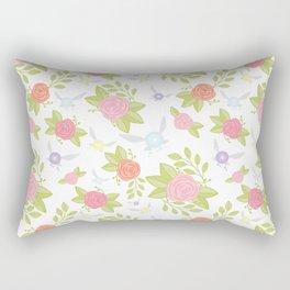 Garden of Fairies Pattern Rectangular Pillow