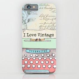 Typewriter #2 iPhone Case