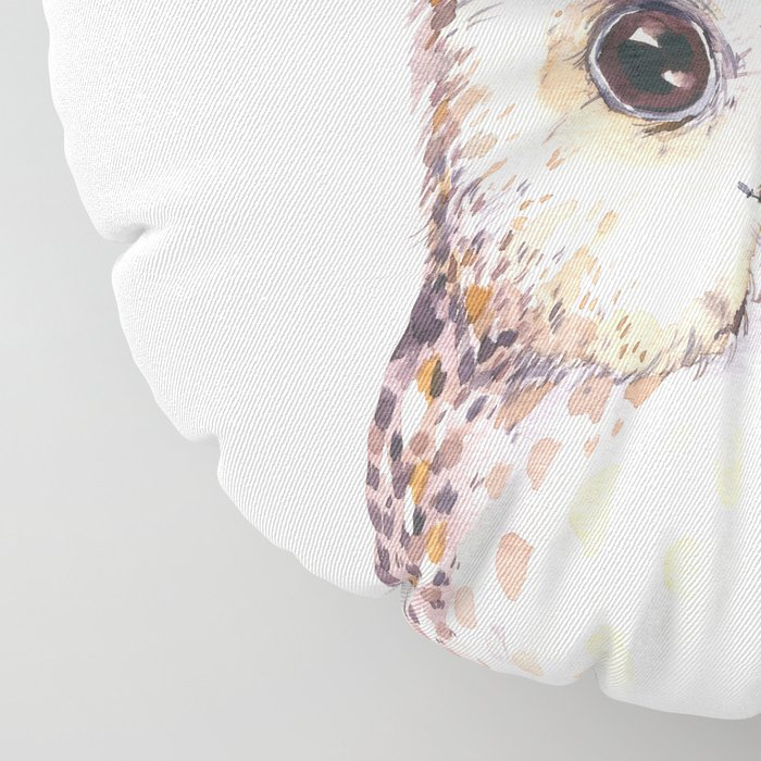 Forest Owl by Nature Magick Floor Pillow