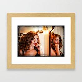 Secret Whisper Framed Art Print