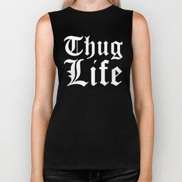 THUG LIFE (Black & White) Biker Tank
