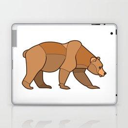 Shapely Brown Bear Laptop & iPad Skin