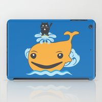 surfing iPad Cases featuring Surfing by Hagu