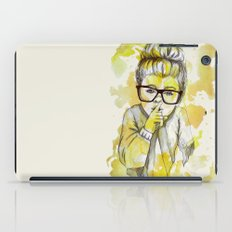 Silent girl by carographic iPad Case