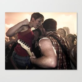 Punk Rawk Show Canvas Print