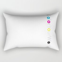 AllWhite Rectangular Pillow