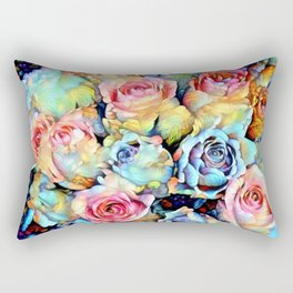 For Love of Roses Rectangular Pillow