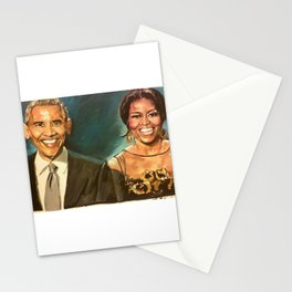 Barack & Michelle Obama Stationery Cards