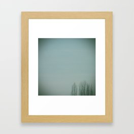 Happy little trees. 5 Framed Art Print
