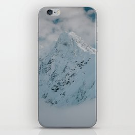 White peak - Landscape and Nature Photography iPhone Skin
