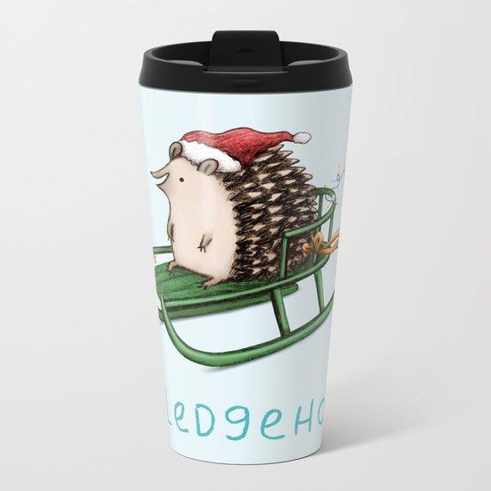 Sledgehog Metal Travel Mug