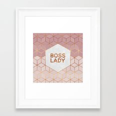 Boss Lady / 2 Framed Art Print