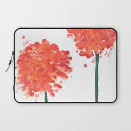 2 abstract geranium flowers Laptop Sleeve