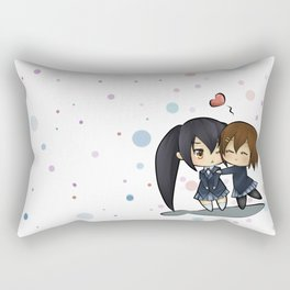 K-on azusa and yui Rectangular Pillow